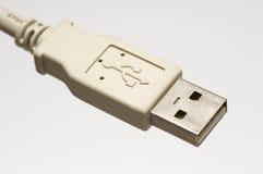 Stop USB Royalty-vrije Stock Foto