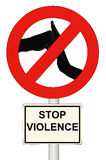 Stop the Violence Stock Images
