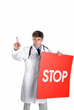 Stop virus Stock Image