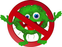 Stop virus Royalty Free Stock Images