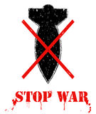 Stop war. Stock Photos