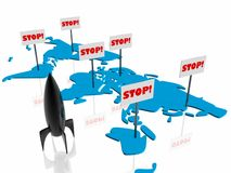 Stop on the war Royalty Free Stock Photography