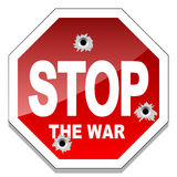 Stop the war Stock Photography