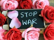 Stop war Stock Photo