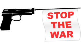 Stop war symbol Royalty Free Stock Photography