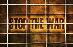 Stop the war Royalty Free Stock Photo