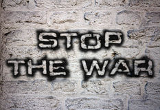 Stop the war vector illustration