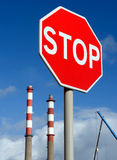 Stop waste Royalty Free Stock Image