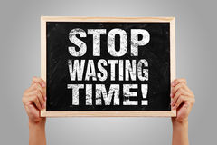 Stop Wasting Time Stock Images