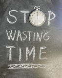Stop Wasting Time Stock Photos