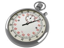 Stop Watch. Image of a stop watch on a white background royalty free illustration