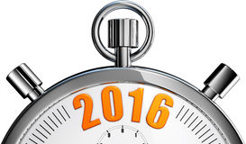 Stop watch 2016 Stock Images