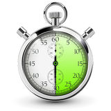 Stop watch icon. 30 seconds stop watch icon Royalty Free Stock Image