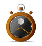 Stop Watch. Stopwatch web  icon  on white background. vector illustration Royalty Free Stock Image
