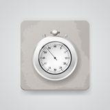 Stop watch. Vector icon Royalty Free Stock Image
