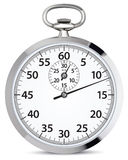 Stop watch. Vector illustration Royalty Free Stock Photo