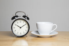 Stop working, its tea time Stock Photography