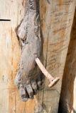 Stopa Jezus Zdjęcia Stock