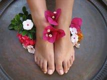 stopa kąpieli b Obraz Royalty Free