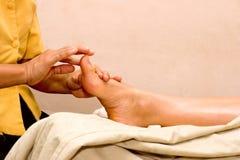 stopa spa masaż. zdjęcie stock
