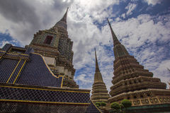 Stopa in wat po thailand Royalty Free Stock Photo