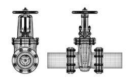 Stopcock трубопровода Стоковая Фотография