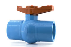 Stopcock ball valve Stock Images