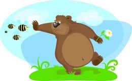 stoped пчелы медведя Стоковые Фото