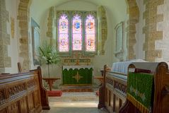 Free Stopham, Sussex, UK. St Mary The Virgin Church, Interior Royalty Free Stock Photos - 159743278