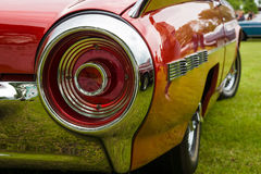 Stoplight of a personal luxury car Ford Thunderbird. PAAREN IM GLIEN, GERMANY - MAY 23, 2015: Stoplight of a personal luxury car Ford Thunderbird (third royalty free stock image