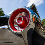 Stoplight of a personal luxury car Ford Thunderbird (third generation). BERLIN - JUNE 05, 2016: Stoplight of a personal luxury car Ford Thunderbird (third royalty free stock photos