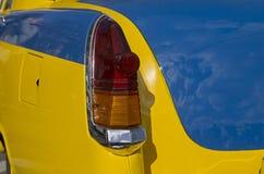 Stoplight stary Radziecki samochodowy Volga GAZ M-21 Zdjęcie Stock