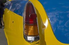 Stoplight stary Radziecki samochodowy Volga GAZ M-21 Fotografia Stock