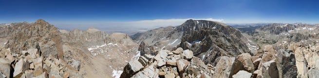 360 stopni grani Grzebieniowa panorama Obrazy Royalty Free