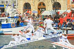 Free Stopover In Sete – Maritime Traditions Festival Royalty Free Stock Photos - 152727028