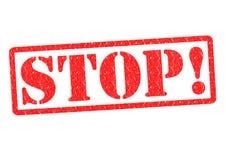 Stopp! fotografering för bildbyråer