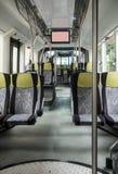 stopp för signalering för bussknapphandrail inre Fotografering för Bildbyråer