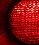 Stopp ljusröd signaleringstrafik Arkivbilder