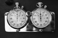 Stopp watches Royalty Free Stock Images