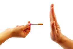 Stoppa att röka begrepp Royaltyfria Foton