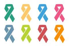 Stoppa det medicinska affischbegreppet för cancer royaltyfri illustrationer