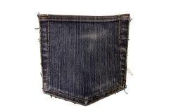Jeans stoppa i fickan Arkivbild