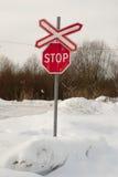 Stoppa körning! Royaltyfria Bilder