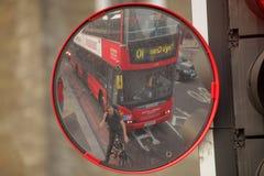 Stoppa på trafikljus Arkivfoto