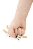 Stoppa rökning! Royaltyfri Bild