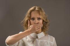 Stoppa samtal! Fotografering för Bildbyråer