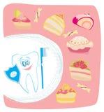 Stoppa sötsaker, idébegrepp Fotografering för Bildbyråer
