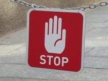 stoppa tabellen Fotografering för Bildbyråer