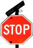 Stoppa tecknet Royaltyfri Foto