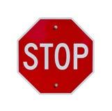 Stoppa tecknet Arkivfoton